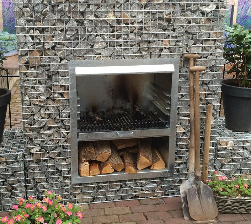 Schanskorf haarden u wilt iets unieks - Barbecue ontwerp ...
